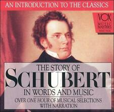 ~DAMAGED ARTWORK CD : The Story of Schubert in Words and Music
