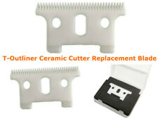T-outliner Replacement Ceramic Blade Andis Clipper Cutter GTX Trimmer Blackouts