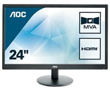 AOC M2470SWH 23.6 inch LED Monitor - Full HD 1080p, 5ms Response, Speakers, HDMI