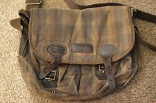Barbour Waxed Satchel Bag