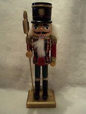 "10"" Royal Guard Nutcracker - Red Coat ~ Santa's Workshop"