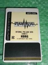Korg Wavestation A/D WPC-OAD synth program ROM card WP WPC 0AD Sound Bank