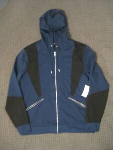 Men's Hooded Full Zip Sweatshirt from INC International Concepts-Size Large-NWT