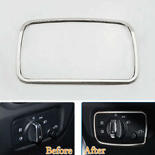Car Head Light Lamp Switch Button Adjust Control Trim Cover For Audi A3 V8 13-16