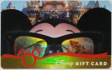 RARE DISNEYLAND Annual Pass Holders LE Gift Card 2006 MINT: Mickey w/ Sunglasses