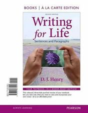 Writing for Life: Sentences and Paragraphs, Books a la Carte Edition (2nd