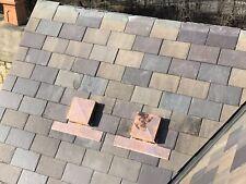 "Roofing 12""Copper Roof Vent Slate Wood Shake Shingles"