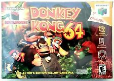 Donkey Kong 64 Nintendo N64 Complete New SEALED First Print 1999 Ships Free