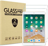 [2-Pack] Tempered GLASS Screen Protector for Apple iPad 8th Generation 2020 10.2