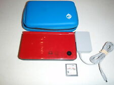 Nintendo DSi XL Super Mario Bros. 25th Anniversary Red with Mario Kart DS
