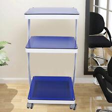 Salon Trolley Cart Stand For Beauty Machine Equipment Spa W/4 Silent Wheels Usa