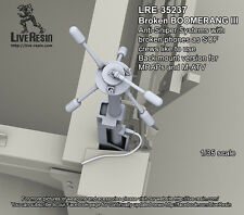 Live Resin 1/35 LRE-35237 Broken BOOMERANG III as SOF Crews Like To Use