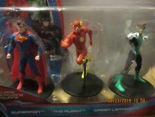 DC COMICS Justice League Figure Set Superman, The Flash & Green Lantern