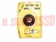CAP ANT-ITHEFT SYSTEM WHEEL SPARE FIAT 1200 1500 SPIDER 1100 103 D R 124 125