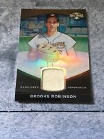 2011 Topps Triple Threads Brooks Robinson Game Used Jersey 22/27 Rare