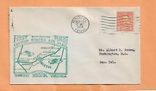 FIRST FLIGHT BRISTOL TENN TO WASHINGTON DC OCT 22,1934 20E34T