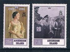 Ascension 1990 Queen Mother Birthday SG525/6 MNH