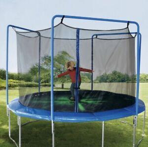 11 FT PARKSIDE Complete Trampoline Enclosure Padded Frame & Net Jumping TR11ENC