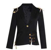 Zimmermann Women Suits Long Sleeve Stitching Lolita Coat Slim Jacket Windbreaker