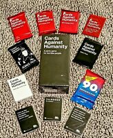 *NEW* Cards Against Humanity: Full Base Game AND 11 Exp. Packs / FACTORY-SEALED