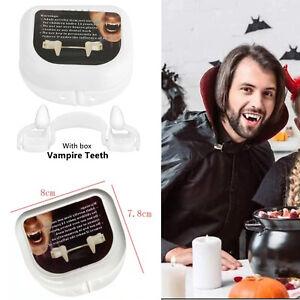 Halloween Retractable Vampire Teeth Horrific Scary Party Cosplay Fangs Costume
