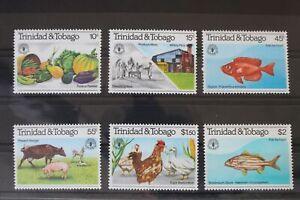 Trinidad und Tobago 435-440 ** postfrisch #VD154