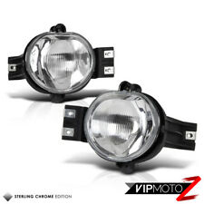 For 02-08 Dodge RAM 1500 2500 3500 Fog Light Replacement Lamp Housing&Bulbs Pair