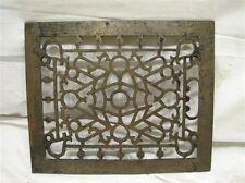 Cast Iron Floor Victorian Register Heat Grate Vent Grille Architectural 8 X 10 E