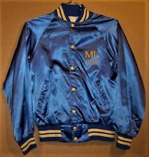 MARQUETTE WARRIORS COLLEGE BLUE SNAP FRONT JACKET