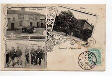 AJONCOURT Moselle CPA 57 gruss aus souvenir frontiere Chateau Maison CHERRIER