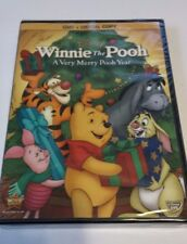 Winnie the Pooh A Very Merry Pooh Year  DVD & Digital Copy NEW SEALED 2013