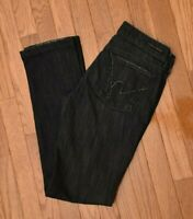 Citizens of Humanity Women's Jeans Ava Stretch Low Waist Straight Leg Size 28
