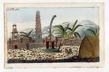 Friedhof-Asien-Oceanien? - Kupferstich 1800 G. T. Wilhelm