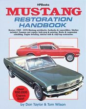 Ford Mustang Restoration Book 1964, 1965, 1966, 1967, 1968, 1969 & 1970 – HP029