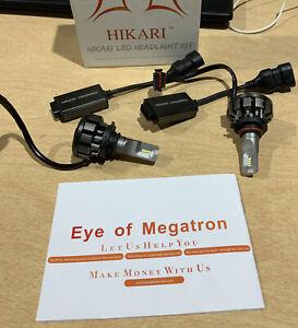HIKARI Ultra LED Headlight Bulbs Conversion Kit -HB3/9005; Missing O Ring; F3