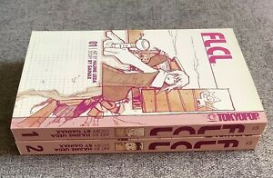 FLCL Fooly Cooly Manga Tokyo Pop 1st Editions in English #1 - 2
