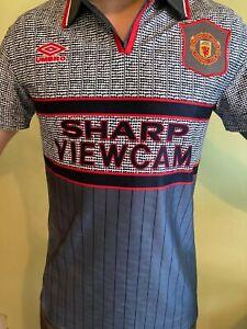 Manchester United Shirt 95/96 Away Kit Retro
