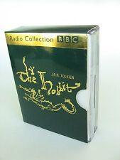 J.R.R.Tolkien The Hobbit 4-Tape BBC Audio Drama Box Set Paul Daneman LOTR