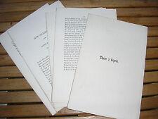 Bernard CAMPAN : Tibère à Caprée tragédie en 5 actes et en vers 1847