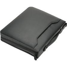 Alassio Tagungsmappe A4 OSI Schreibmappe Ringbuchmappe Lederimitat schwarz 30076