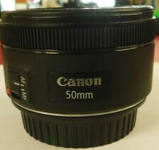 Canon EF 50mm f/1.8 STM 1:1.8 Auto Focus Lens