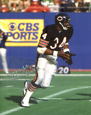 WALTER PAYTON photo in action Chicago Bears HOF #2 (c) 1985 Super Bowl Champs