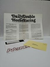 Daily Double Horse Racing Commodore 64 C64 Complete without Box