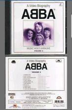 KARAOKE  DVD.    A VIDEO BIOGRAPHY OF ABBA   .  20 TOP TRACKS