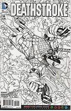 Deathstroke No.14 / 2016 Adult Coloring Book Variant