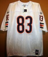 CHICAGO BEARS DAVID TERRELL WHITE NFL JERSEY BY REEBOK IN SIZE EXTRA LARGE