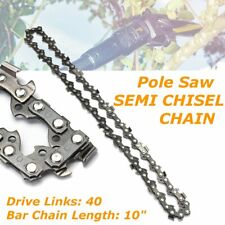 2Pcs 10 in Chainsaw Saw Chain 40 Drive Links Fits Rotatech STIHL OREGON HAM