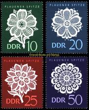 EBS East Germany DDR 1966 Plauen lace (I) Plauener Spitze Michel 1185-1188 MNH*