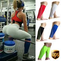 Medical Sports Calf Brace Support Sleeve Leg COMPRESSION Running Shin Splint US