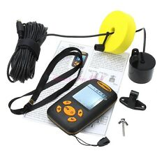 Handheld Portable Fish Finder Fishing Alarm Sonar Fishfinder For River Sea Ice